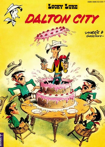 Lucky Luke - Dalton City: [koomiks]