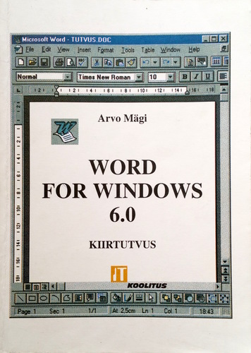 Word for Windows 6.0 : kiirtutvus