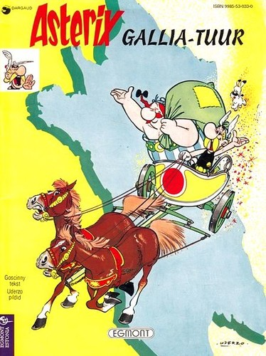 Asterix. Gallia-tuur