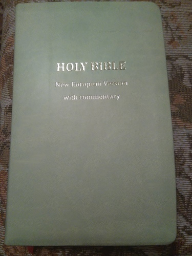 Holy Bible: New European Version with Commentary