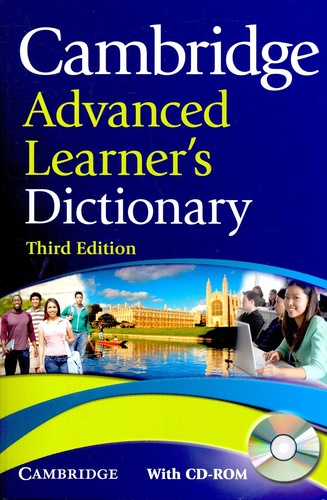 Cambridge Advanced Learner's Dictionary with CD-ROM 3rd