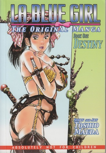Destiny (La Blue Girl: The Original Manga, Book 1)