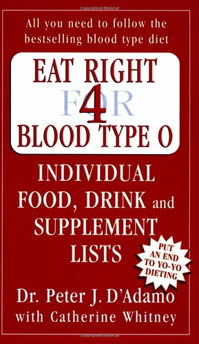Eat Right For Blood Type 0