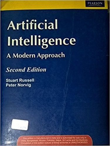 Artificial intelligence - a modern approach, second edition