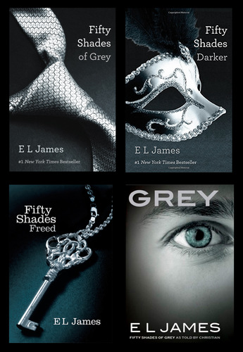 Fifty Shades #1-3 + Grey