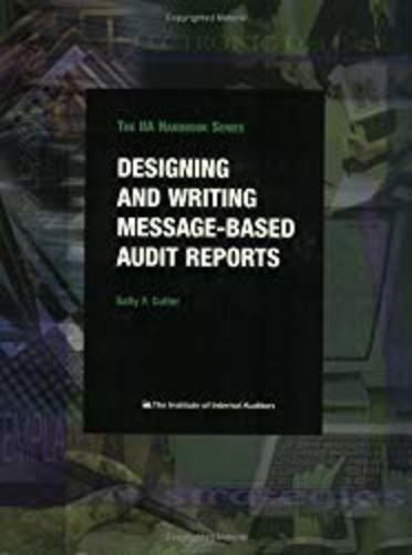 Designing and Writing Message-Based Audit Reports