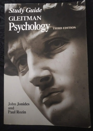 Gleitman Basic Psychology Study Guide Third Edition