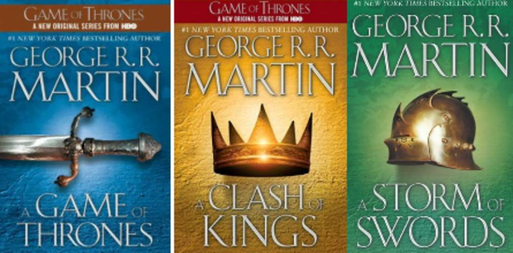 A Game of Thrones A Clash of Kings A Storm of Swords