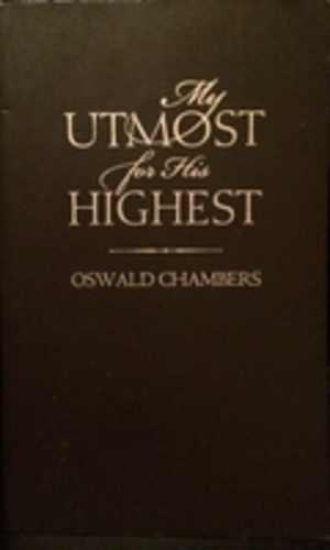My Utmost for His Highest. Updated edition