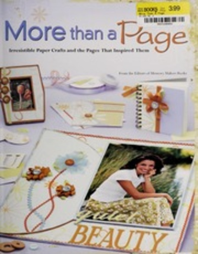More than a page irrestible paper crafts and the pages