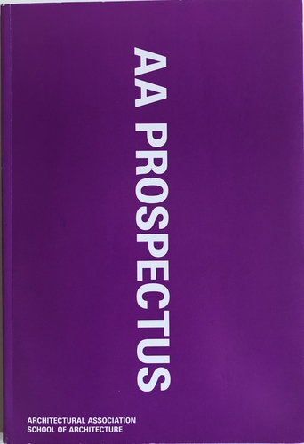 Architectural Association Prospectus 2010/11