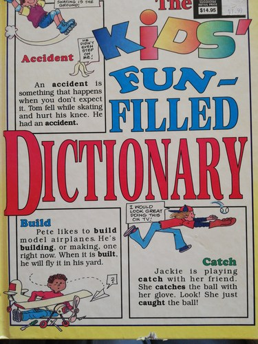 Kids fun filled dictionary