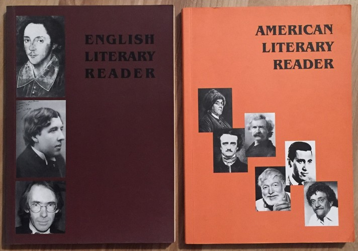 Literary Reader (English + American) : Text-Book For Secondary Schools