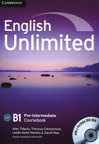 English Unlimited. B1 Pre-intermediate Coursebook
